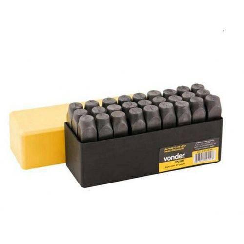 Alfabeto Bater de Aço Jogo 8 Mm [ 3607080000 ]