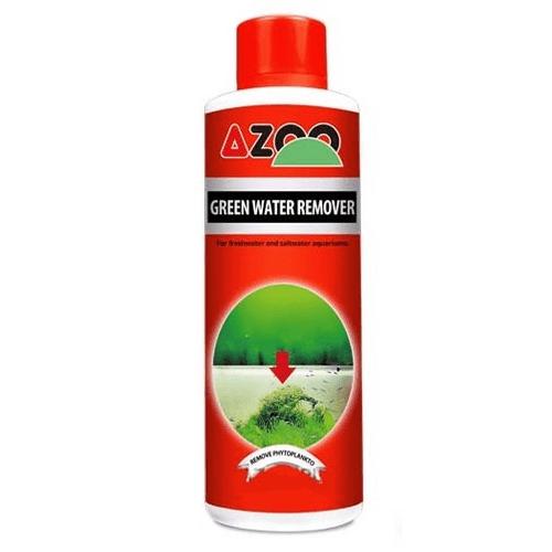 Algicida Azoo Green Water Remover para Aquários 120ml