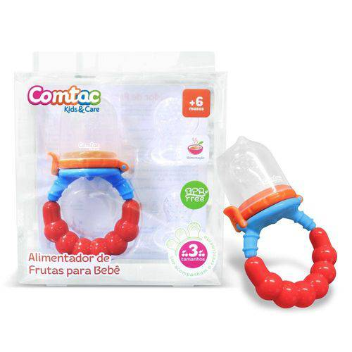 Alimentador de Frutas para Bebê - Comtac Kids