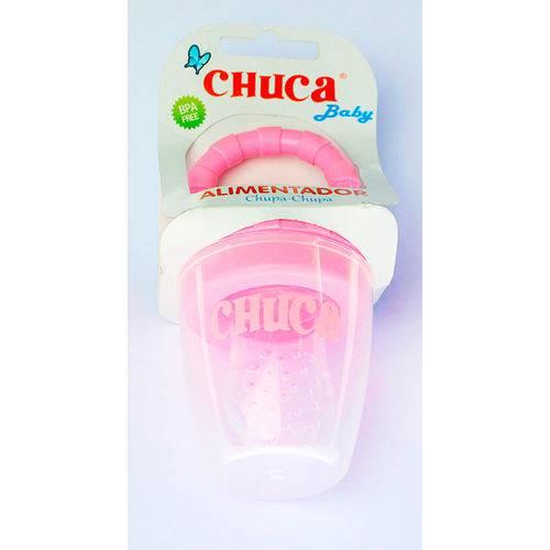 Alimentador Rosa com Tampa - Chuca Baby