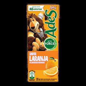 Alimento com Soja Ades Laranja 200ml