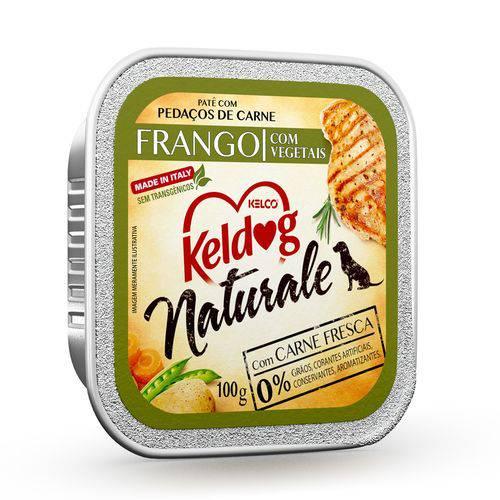 Alimento Úmido Keldog Naturale Frango com Vegetais 100g