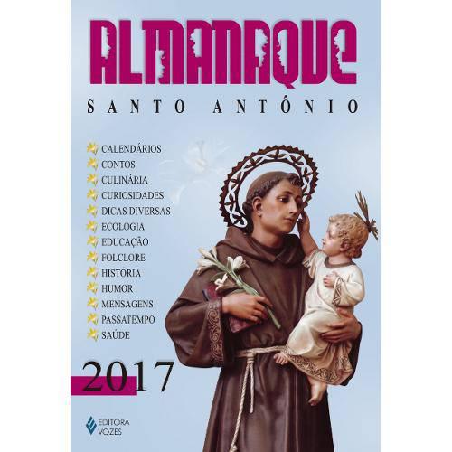 Almanaque Santo Antonio 2017 - Vozes