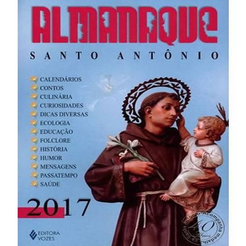 Almanaque Santo Antonio 2017