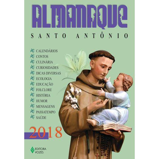 Almanaque Santo Antonio 2018 - Editora Vozes