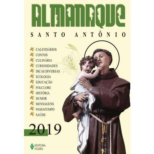 Almanaque Santo Antonio 2019
