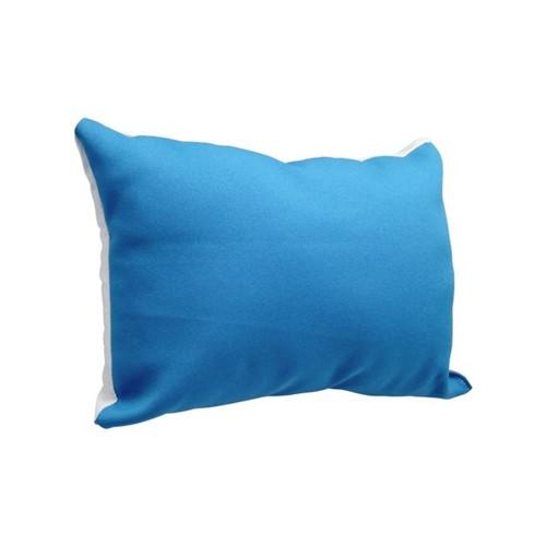 Almofada 20x30 com Enchimento Azul Claro