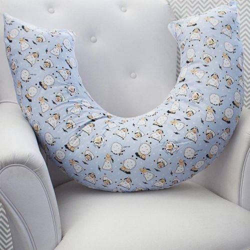 Almofada Amamentação Ovelha Azul