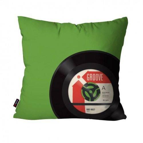 Almofada Avulsa Música Verde Vinil