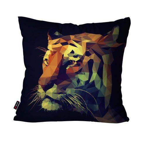 Almofada Avulsa Preto Tigre