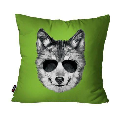 Almofada Avulsa Verde Lobo