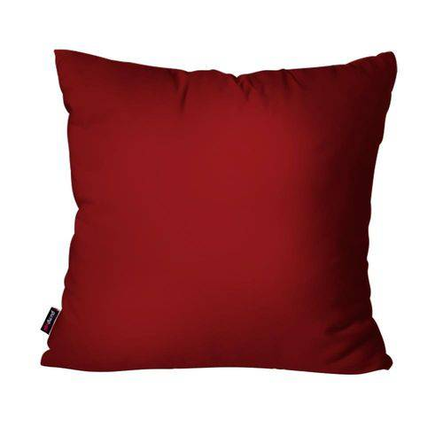 Capa de Almofada Decorativa Avulsa Vermelho