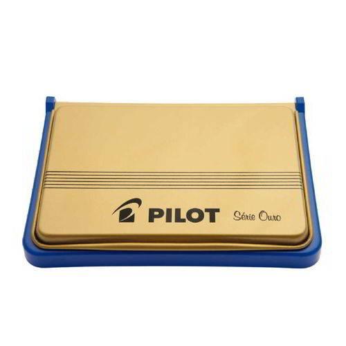 Almofada Carimbo Nº 3 Azul Pilot