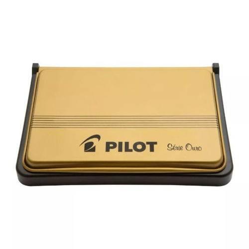 Almofada Carimbo Nº 3 Preta Pilot