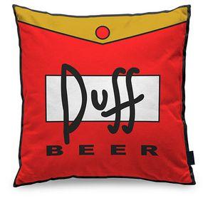 Almofada Cerveja Duff Beer Quadrada
