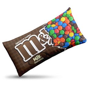 Almofada Chocolate M&M Doce Candy