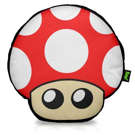 Almofada Cogumelo Vermelho - Grow Up