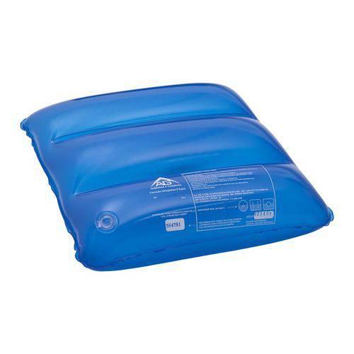Almofada de Água Anti Escaras Quadrada Flexi Confort Ag Azul 40x40cm