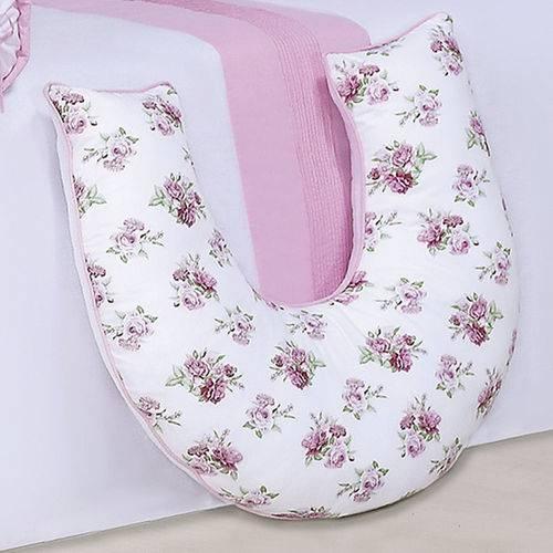 Almofada de Amamentação Flower Rosa
