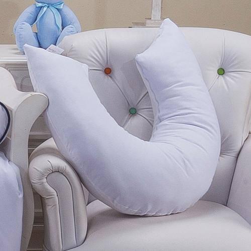 Almofada de Amamentação Piquet Branco