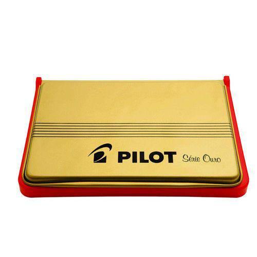Almofada de Carimbo No.3 Vermelha Pilot