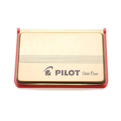 Almofada de Carimbo Pilot Nº 3 Vermelha
