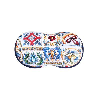 Almofada de Lombar Halteres Azulejo Siciliano