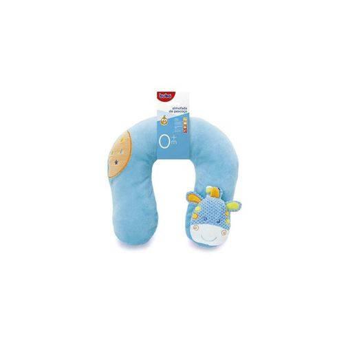 Almofada de Pescoço Girafa Azul - Buba