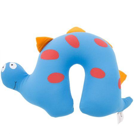 Almofada de Pescoço STZ Dinossauro Azul -