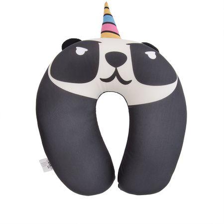 Almofada de Pescoço STZ Panda Ninja Preto -