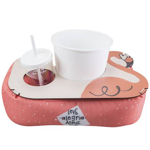 Almofada de Pipoca Shape Flamingo - Uatt