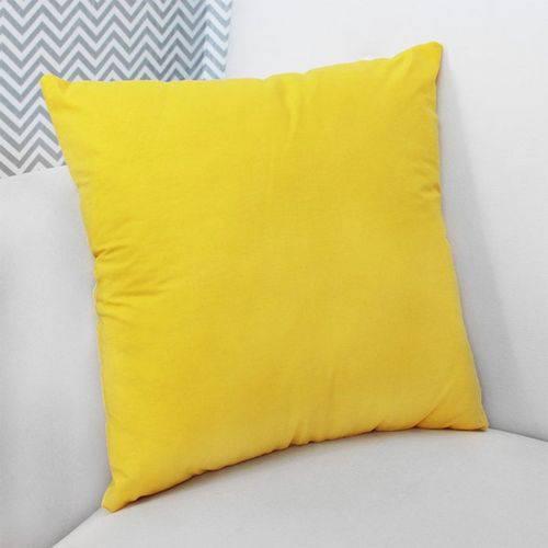 Almofada Decorativa Amarelo 100% Algodão