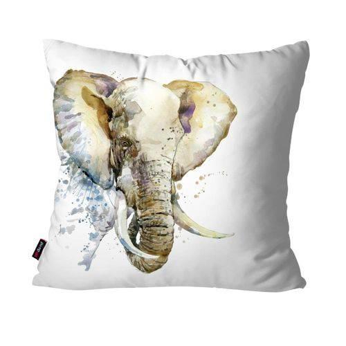 Almofada Decorativa Avulsa Branco Elefante
