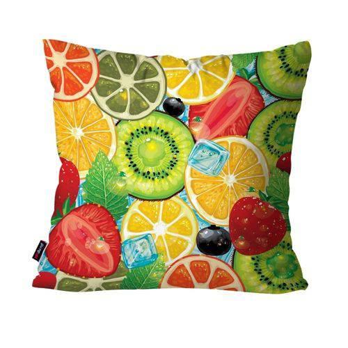 Almofada Decorativa Avulsa Colors Frutas