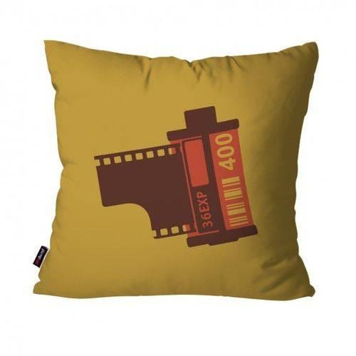 Almofada Decorativa Avulsa Ocre Filme