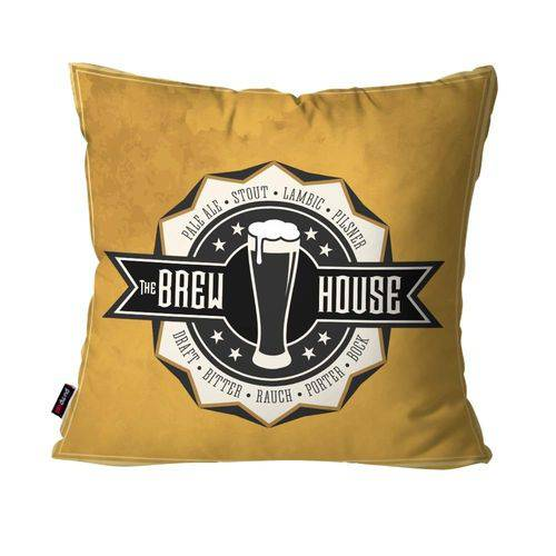 Almofada Decorativa Avulsa Ocre The Brew House