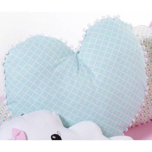 Almofada Decorativa Coração Sophia