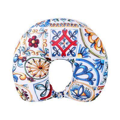 Almofada 2 em 1 Duo Azulejo Siciliano