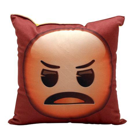 Almofada Emoji Bravo e Tomando Sol