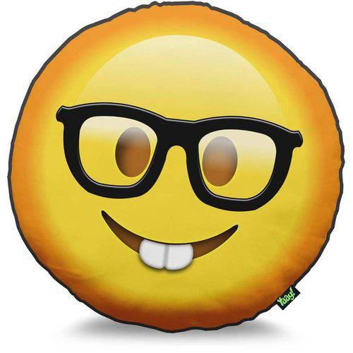 Almofada Emoji Nerd e Geek Emoticon