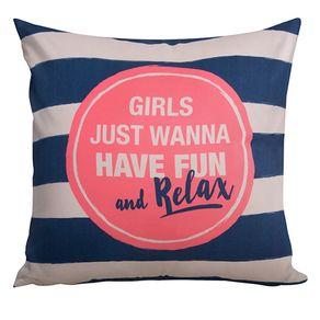 Almofada Girls Just Wanna Have Fun