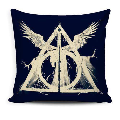 Almofada Harry Potter e as Relíquias da Morte
