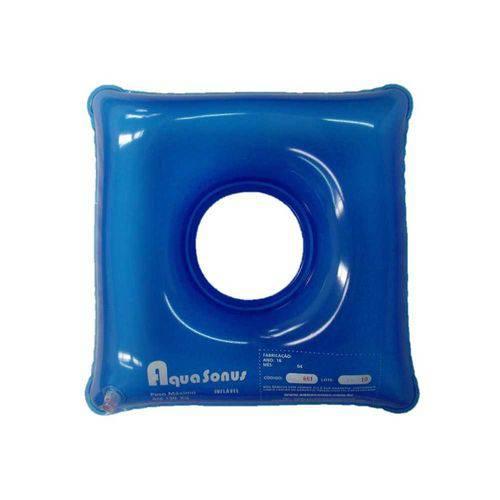 Almofada Inflável Quadrada com Orifício Aquasonus