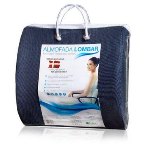 Almofada Lombar Azul 06/12x033x035
