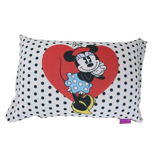 Almofada Micropérolas Red&Blue Hearts Minnie Disney
