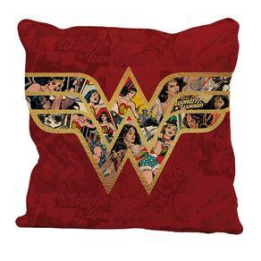 Almofada Mulher Maravilha Logo Comics HQ Quadrinhos DC Comics
