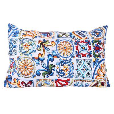 Almofada Nap Azulejo Siciliano com Capa