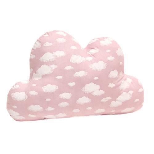 Almofada Nuvem Céu Rosa