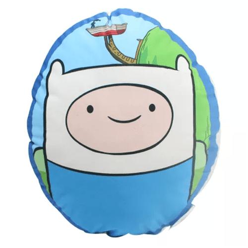 Almofada Oval Adventure Time - Finn e Jake - Hora de Aventura
