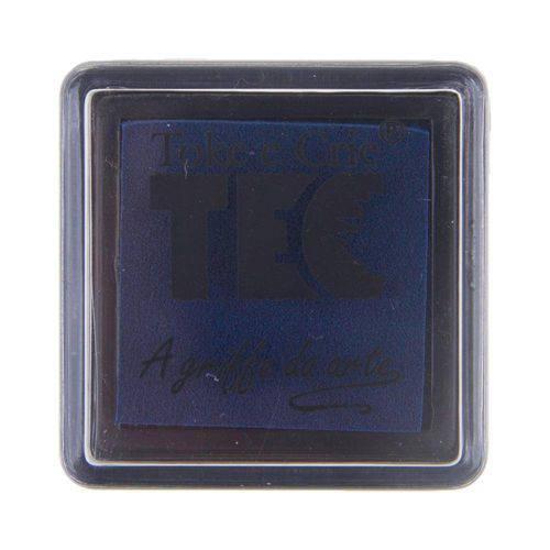 Almofada para Carimbo Azul Marinho